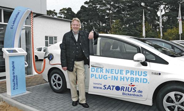Satorius automobile baut seine hybrid-kompetenz an der bergstraße