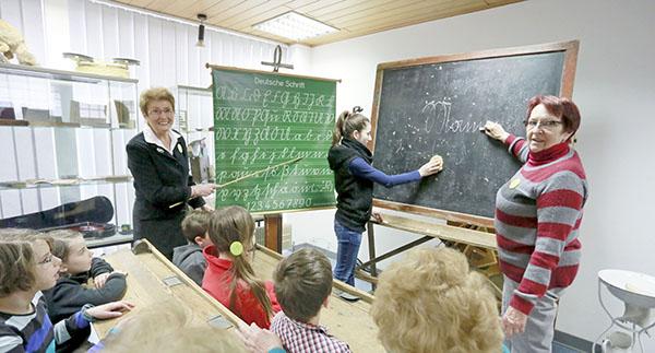 Lehrerin kennenlernen
