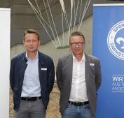 Co Trainer Frank Heinemann  und Trainer  Norbert Meier stellten sich den Medien Foto Dirk Zengel