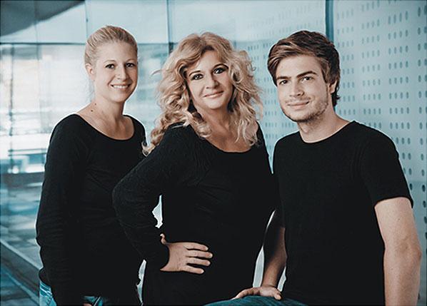Vera Wicht, Eva M. Wicht und Paul Wicht